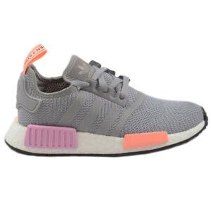 the latest e350d 75834 Details zu Adidas Damen Sneaker NMD_R1 Grey/Rosa B37647