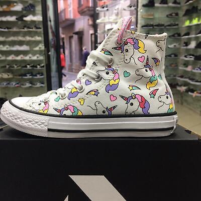 Scarpe Converse 663994 Unicorn Rainbow Unicorno Arcobaleno bambina ragazza | eBay