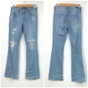 Stitch-Fix-Liverpool-2-26-Womens-Patchwork-Isabell-Skinny-Bootcut-Denim-Jeans