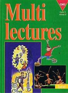Details Sur Multi Lectures Manuel Scolaire Cm2 Cours Moyen Istra Livre Ecole Francais Eo