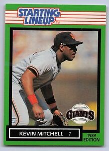 1989  KEVIN MITCHELL - Kenner Starting Lineup Card - SAN FRANCISCO GIANTS