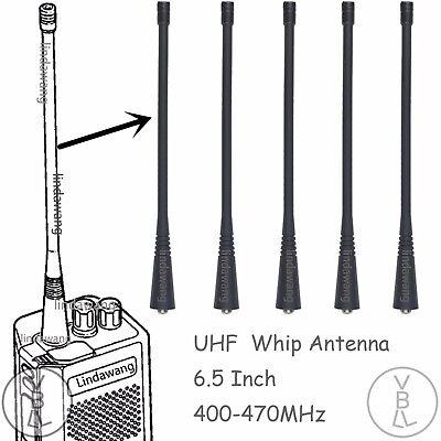 5x UHF Whip Antenna for Motorola GP140 CP190 CP200 Portable Radio NAE6483