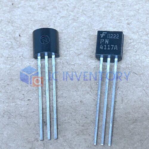 10pcs PN4117A PN4117 FET N-Channel Switch 40 V 350 mW BRAND NEW