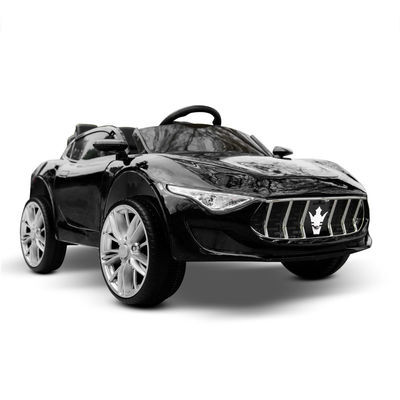Kid Ride-On Car Maserati Inspired Battery Style Electric Toy Remote 12V Black