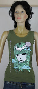 EMILY-THE-STRANGE-CLOUDY-TANK-TOP-CANOTTA-DONNA-VERDE-XS-S