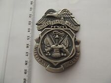 A33-11 Military Police Shield Badge Original  MP US Army USA SELTEN