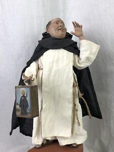 Figura-Cammino-28cm-Presepe-Arte-Presepiale-Krippe-Belen-Napolitano-Monaco-Prete