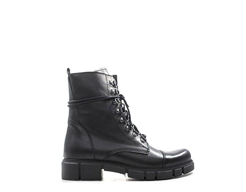 Zapatos Rebecca van el mujer negro naturaleza cuero tfathea - 906.ne.01