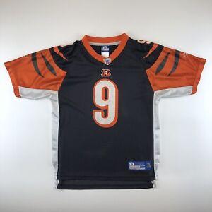 56fad9adba4 Carson Palmer Cincinnati Bengals #9 Black Reebok NFL Football Jersey ...