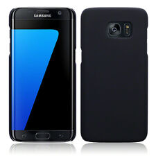Galaxy S7 Edge Extreme Impact Element Case Rubberised Micro Thin Rugged Black