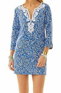 5c55f69c811e5f Image is loading 228-Lilly-Pulitzer-Julianna-Indigi-Chasing-Tail-Tunic-