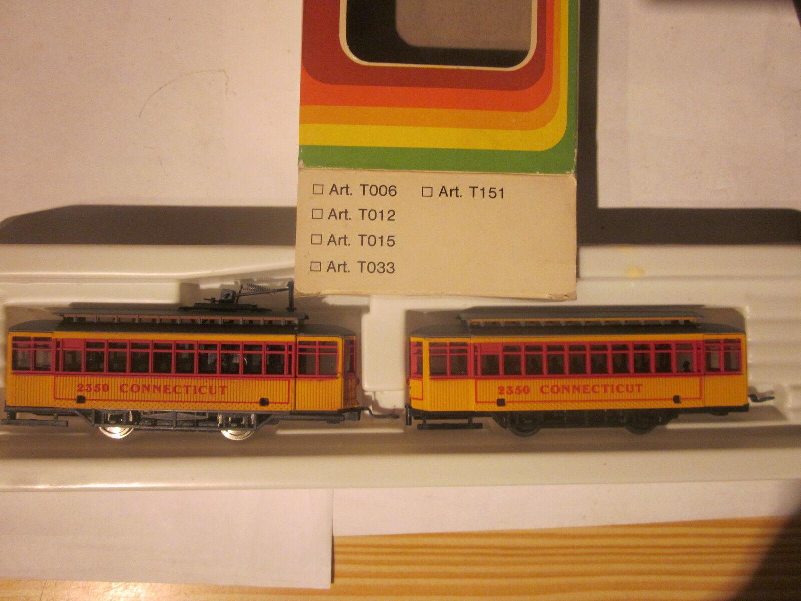 Straßenbahn von von von MEHANO NEU  OVP  Art.Nr T033    Qualitativ Hochwertiges Produkt  465d8c