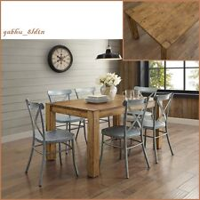 f82f754e4c33 item 2 New Rustic Solid Wood Dining Table Desk Block Leg Farm House Style  Vintage look -New Rustic Solid Wood Dining Table Desk Block Leg Farm House  Style ...