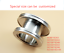 ISO80-100-160-to-ISO63-80-100-Straight-Nipple-Reducer-High-Vacuum-Fitting thumbnail 2