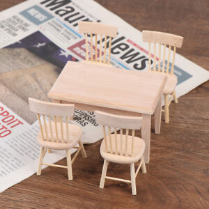 1Set-1-12-Dollhouse-Miniature-Dining-Table-Chair-Doll-House-Wooden-Furniturey3
