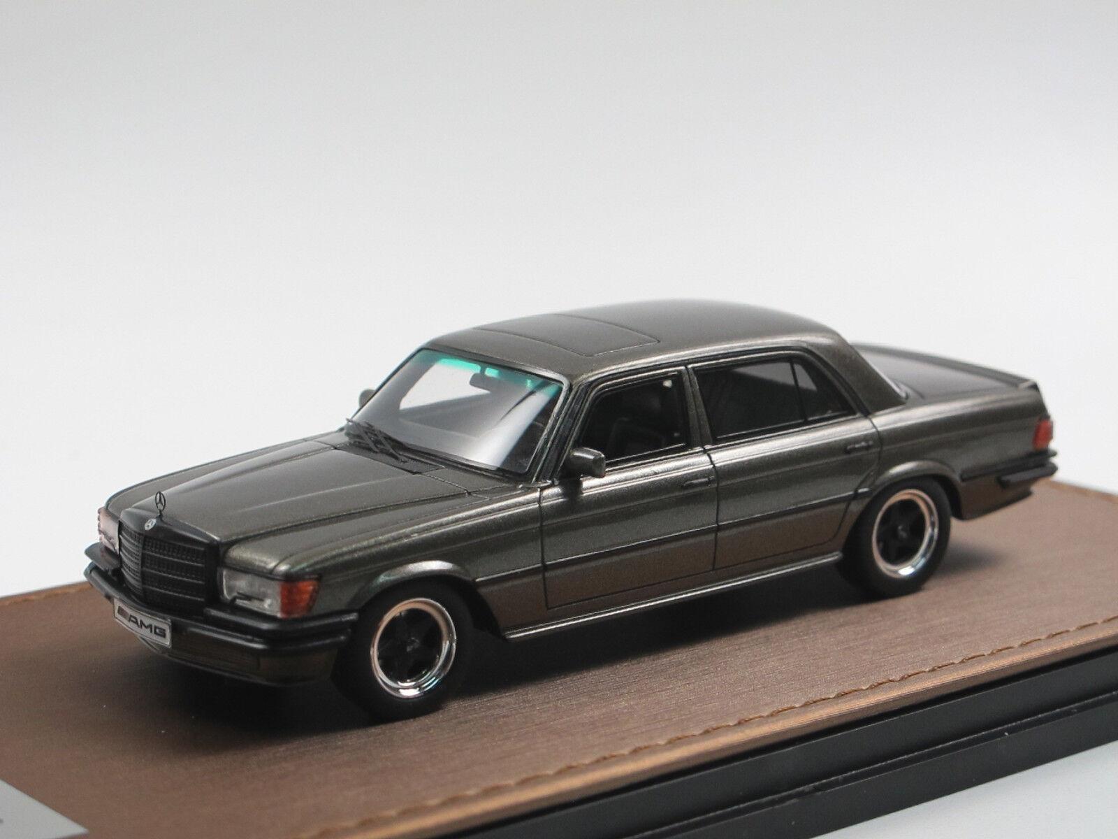 GLM 1978 AMG Mercedes-Benz 450 SEL 6.9 w116 Olive 1 43 limited edition