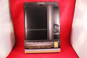 New-Black-Solo-Universal-Tablet-Cover-Case-Devices-8-5-034-x-11-034-Open-Edge