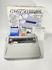 Mint Brother Gx 6750 Electric Typewriter With Warranty Supplies Best On Ebay