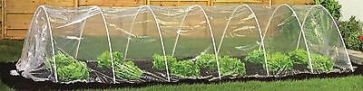 Clear Vegetable / Fruit Vegetable Polytunnel / Grow Tunnel House. 5m Long