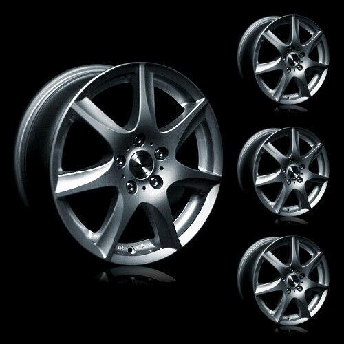 4x 16 Zoll Alufelgen Mercedes Benz A-Klasse C-Klasse CLC E-Klass.. uvm. | #10221