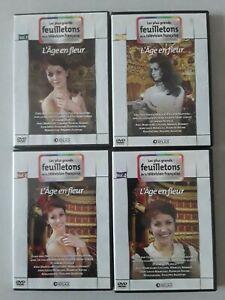 L-039-AGE-EN-FLEUR-Integrale-4-Volumes-DVDs-Comme-neufs-Collard-Bonnet