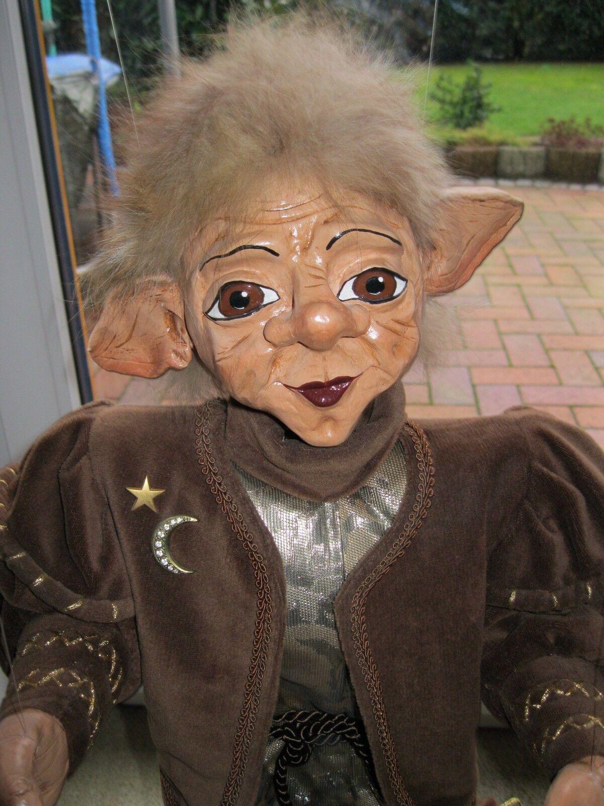 Marionetten ein Pärchen Pärchen Pärchen handgefertigt von 1996 ( Fabelwesen ). | Fuxin  de9897