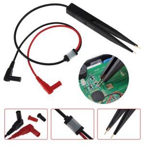 SMD-Inductor-Test-Meter-Clip-Probe-Tweezers-For-Resistor-Multimeter-Capacitor