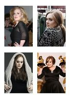 4  Music Singer Adele 5 x 7 / 5x7 GLOSSY 4 Photo Picture LOT