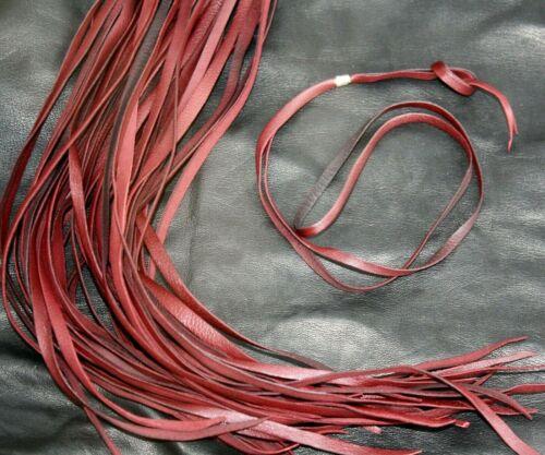 Forte dentelle idéal pour pendentifs velours Haute Qualité Véritable Bordeaux Cuir String