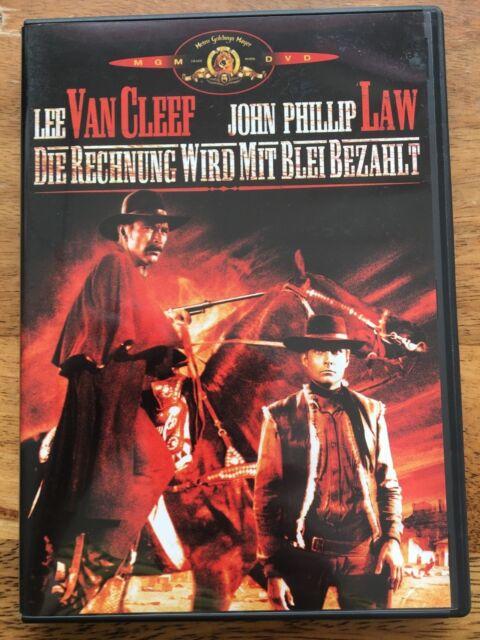 Die Rechnung wird mit Blei bezahlt [DVD] rar, oop, neuwertig, Lee van Cleef