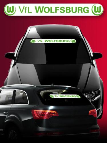 Des Autocollants Autocollant Sticker VfL Wolfsburg 78x9 cm
