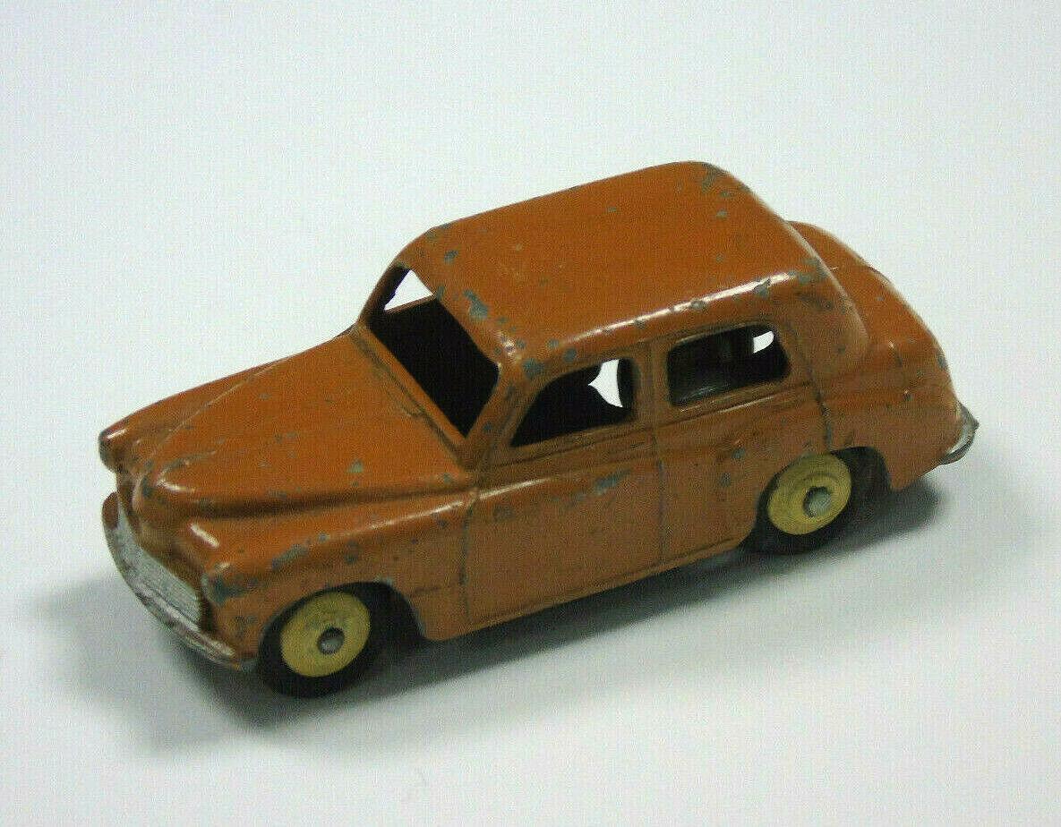 Vintage Dinky Jouets Modèle Moulé Hillman Marron Fabriqué en Angleterre Meccano