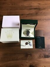 Rolex Oyster Perpetual M116400-0002 Wrist Watch for Men