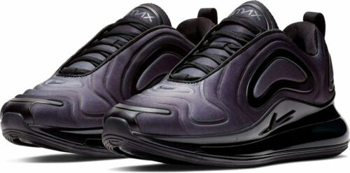 Mujeres Nike Air Max 720 Negro Antracita entrenadores AR9293 003 DB17/19