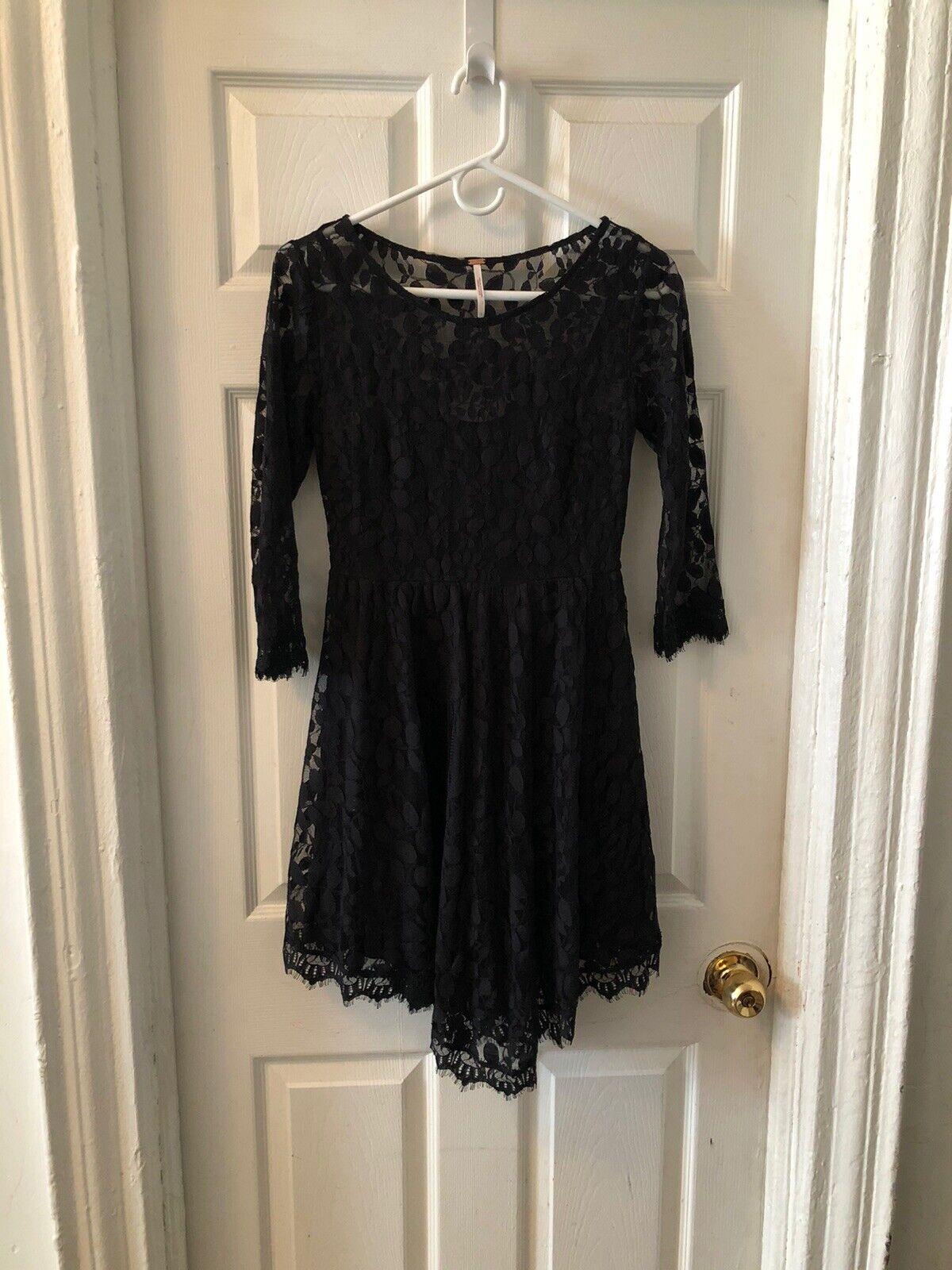 Free People Black Dress - image 3