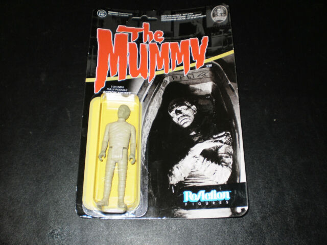 THE MUMMY FULLY POSABLE ACTION FIGURE REACTION FIGURES M.O.C