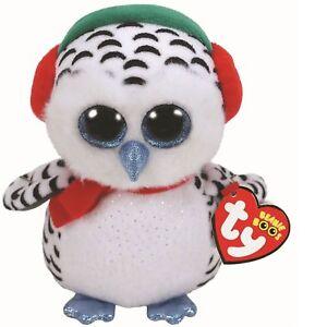 Ty 36221 Nester Snowy Owl 15 Cm Beanie Boo s 920f67b790a0