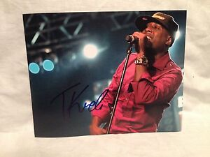 Talib-Kweli-SIGNED-AUTOGRAPHED-8X10-PHOTO-BLACK-STAR-COA-WOW-D