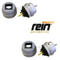 Audi A4 Quattro 2.0l Pair Set Of Left And Right Engine Mounts Rein