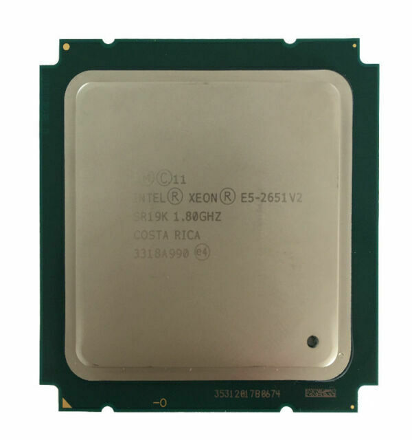 E5-2651V2 Intel Xeon E5-2651 V2 1.8Ghz 12 Core 30MB LGA2011 CPU Processor