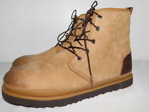 80329fd887d Details about DEFECT MENS SIZE 11 DESERT TAN UGG HARKLEY WATERPROOF CHUKKA  BOOTS LACE UP SHOES