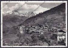 BRESCIA CORTENO GOLGI 05 Fraz. SANTICOLO Cartolina viaggiata 1954 REAL PHOTO