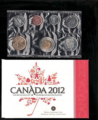 2011 Uncirculated Coin Proof Like Set ~ Loon Bear Canadian Coin set