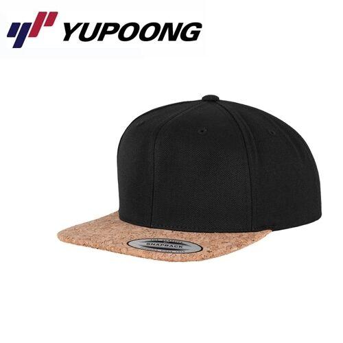 Yupoong Special Cork Snapback Cap Schwarz