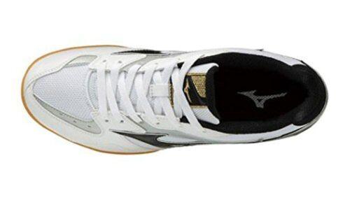 MIZUNO Table Tennis Shoes CROSSMATCH PLIO RX4 81GA1830 White Black With Tracking