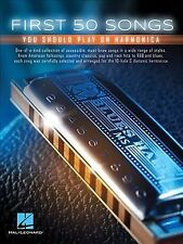 First 50 Songs You Should Play on Harmonica (2016, Paperback)