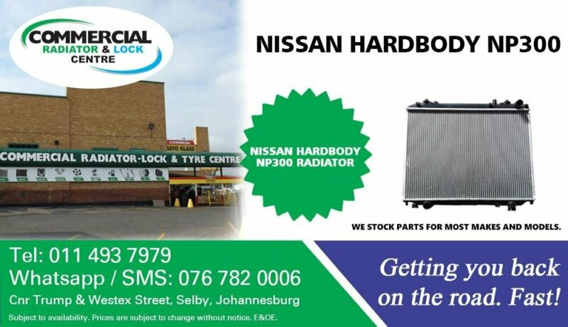 Radiator For Nissan NP300 Hardbody For Sale