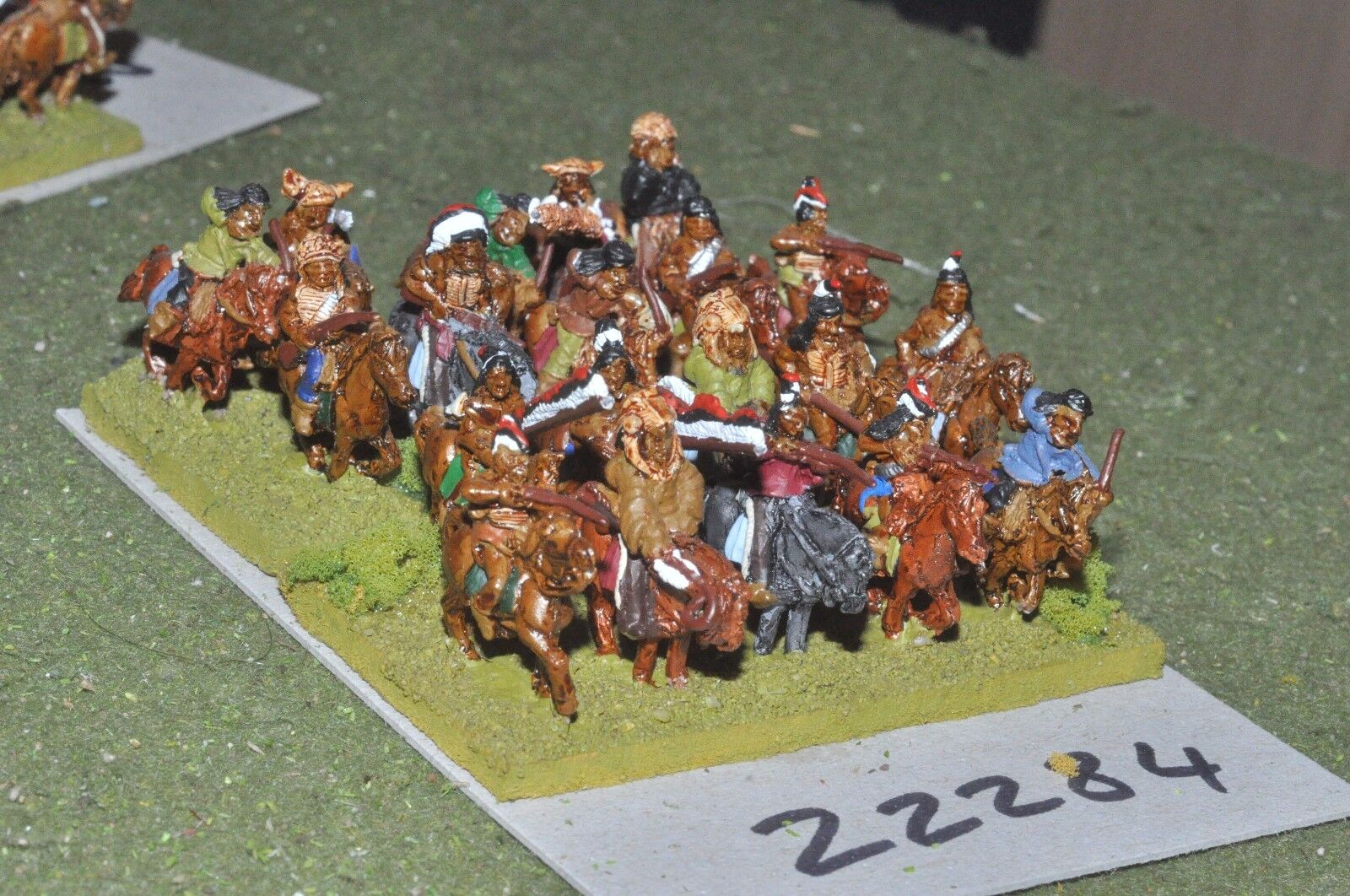 15mm ACW   indian - old west warriors 20 figures cavalry - cav (22284)