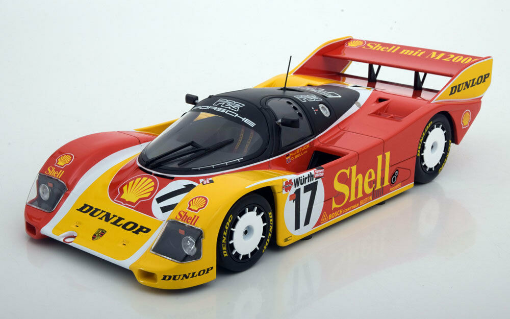 Minihamps Porsche 962c 200 Shell Meilen nurburgring 1987 Coched   Bell 17 1   18