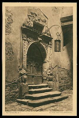 KüHn Ak Rothenburg Ob Der Tauber Alte Ansichtskarte Foto-ak Postcard Cx54 Ein Bereicherung Und Ein NäHrstoff FüR Die Leber Und Die Niere Motive